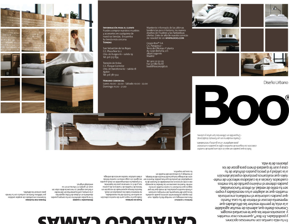... Collection Of 3 Fold Outs For A Furniture Company And Because It Is A  Collection I Must Develop A Visual Language That Unifies It And Provides  The Means ...